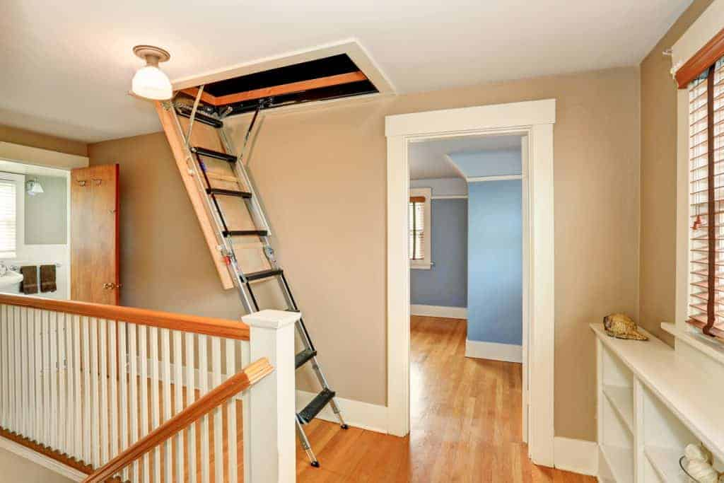 open attic hatch