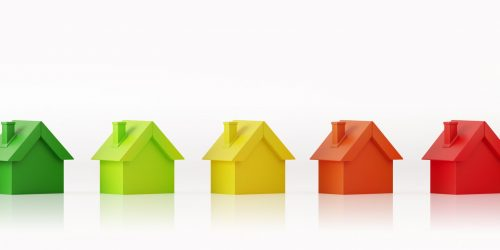 Energy efficiency model tiny houses